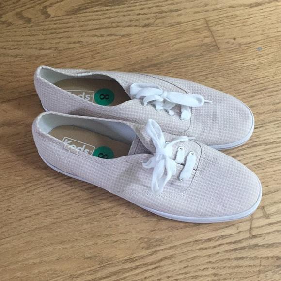 92bdbe38fd1c Keds Shoes - Keds Women s Size 8 Champion Seersucker Sneakers
